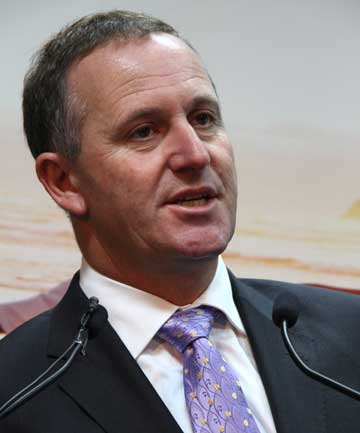AGGRESSIVE MEDIA: John Key says he's not moaning about it - it is a matter of fact.