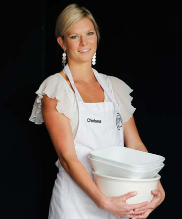 CONFIDENT: MasterChef contestant Chelsea Winter seems very assured of her place on the TV show.