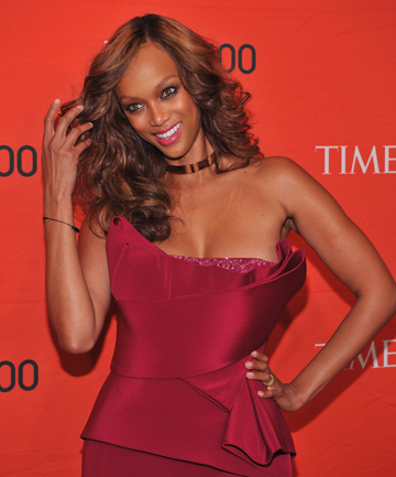 WEIGHTY TOPIC: Tyra Banks has heralded Vogue's decision to ban models who may have eating disorders.