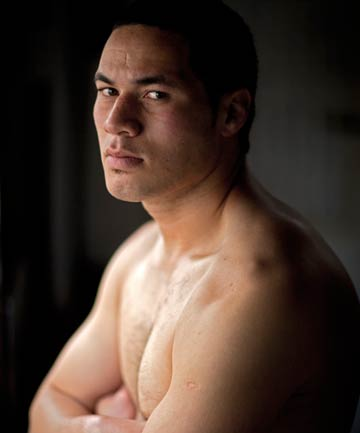 CASHING IN: Joseph Parker has joined the professional boxing ranks.