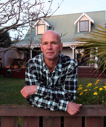 Southshore resident Richard Logchies is considering swapping his house for another rather than leaving the area.