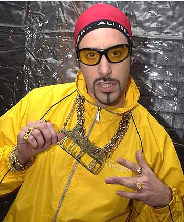 Sacha Baron Cohen as Ali G.