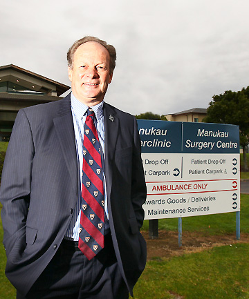 PPP: Health board deputy chief executive  Ron Pearson is keen to see the Manukau SuperClinic site expanded to ease growing pressure on Middlemore Hospital.