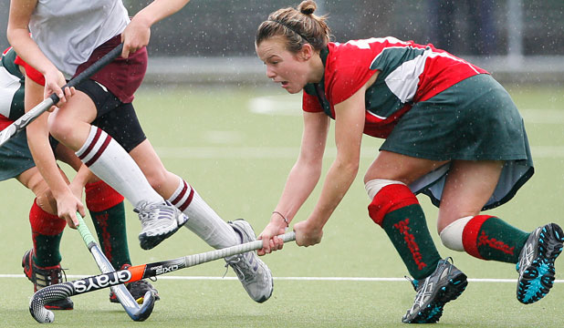 YOUNG TALENT: At 16, Megan Hull is the youngest player named in the women's Junior Black Sticks.