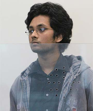ASHKAY ANAND CHAND: Charged with murdering Christie Marceau.