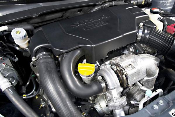 The Suzuki Swift's diesel unit is a turbo-charged Fiat designed engine.