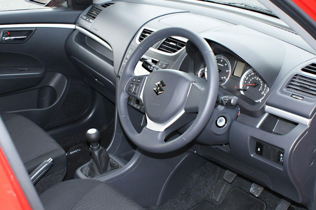 The Suzuki Swift diesel is European-made which means a smart interior trim, but ''wrong-way'' indicators and wipers.