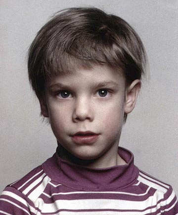 An undated file photo of Etan Patz who vanished in New York on May 25, 1979, and has never been found