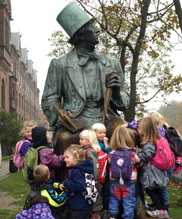Even after 150 years, Hans Christian Andersen still has the power to enchant small children.