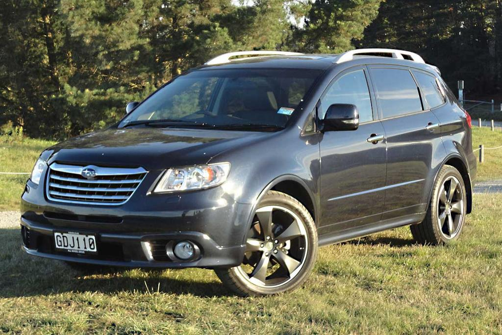 Subaru's Tribeca is one no-one things about, but worth a look when you're researching a luxury active family holdall.