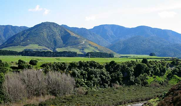 James Cameron purchased two plots of land along Western Lake Rd in south Wairarapa.
