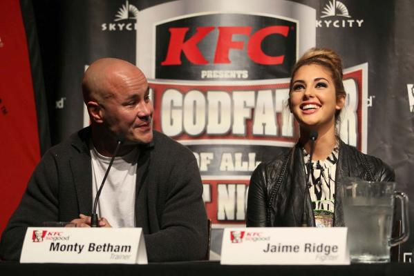 Jaime Ridge and Monty Betham