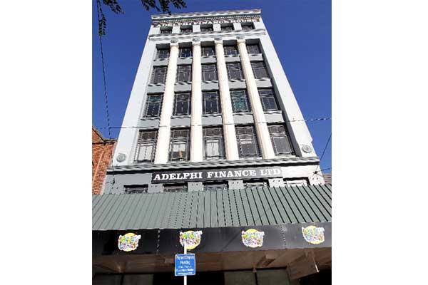 Courtenay Place's Adelphi Finance building gets a $18,750 grant to help preserve heritage values on the facade while strengthening work is done.