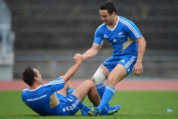 Israel Dagg and Tamati Ellison
