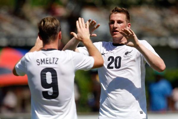 Shane Smeltz and Chris Wood