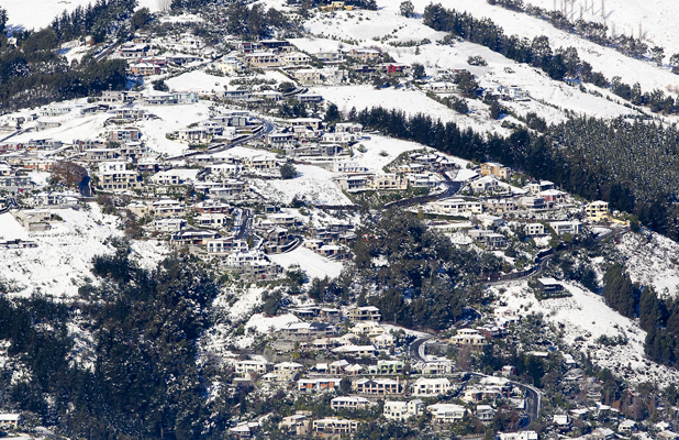 Aerial of Cashmere