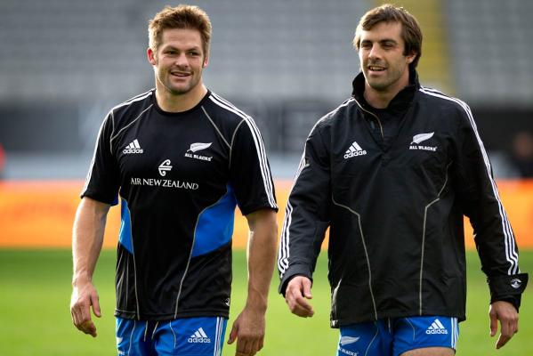 Richie McCaw and Conrad Smith