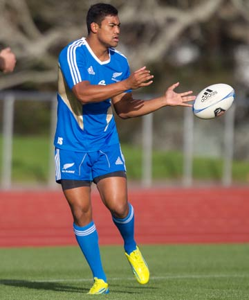 CLASS ACT: Julian Savea during a training run in Auckland this week in preparation for the first test against Ireland.