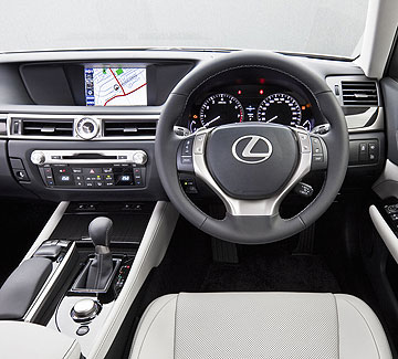 Lexus has made a great effort to make its GS's interior more efficient and welcoming.