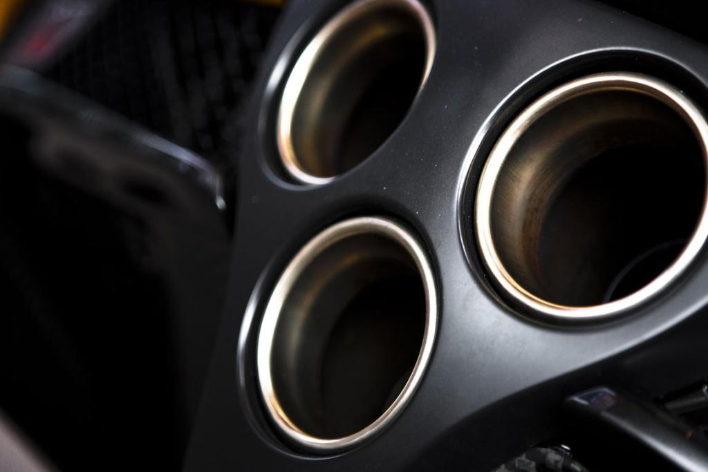 Where the music comes from: the LFA's sound is unique, even among V10s.