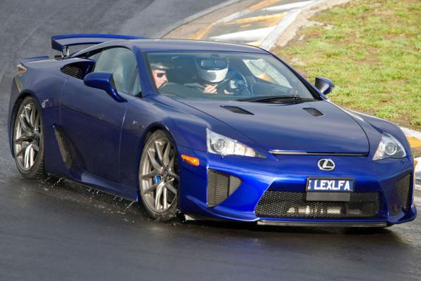 Only the highly-skilled need apply to drive the Lexus LFA.