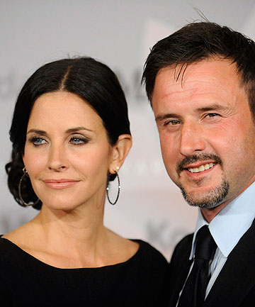 OFFICIALLY OVER: David Arquette has filed for divorce from Friends star Courteney Cox.