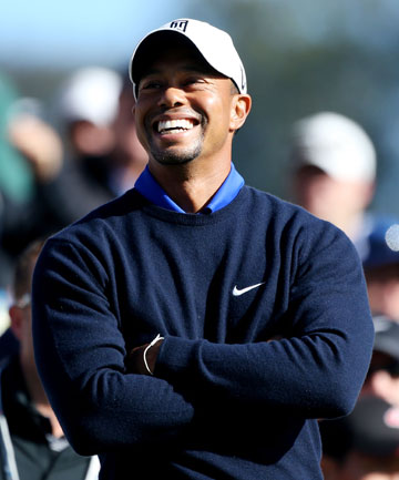 TIGER WOODS: Favourite with the bookies to win the 2012 US Open.