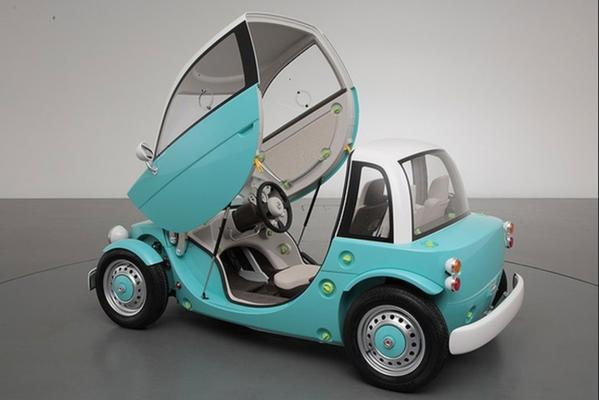 Toyota's toy car concepts. The Camette ''Sora''.