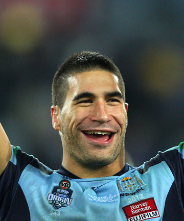 BIGGEST BUZZ: James Tamou says State of Origin trumps playing international rugby league for Australia.