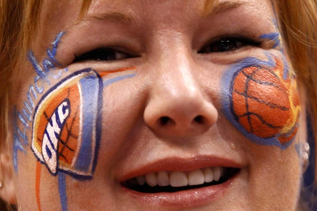 Oklahoma City Thunder fan