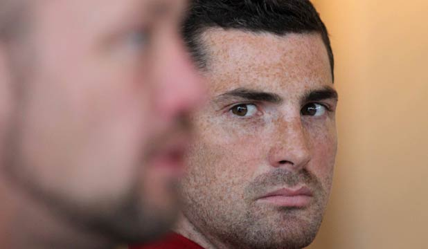 NO LEAKS: Nobody will be more pleased than fullback Rob Kearney if Ireland can firm up their leaky defence in Christchurch tonight.