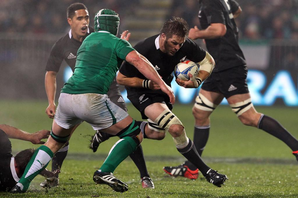 Richie McCaw on the charge.