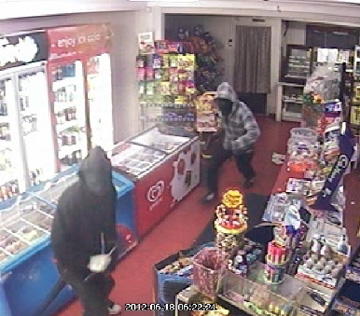 Waikato detectives are working with their Bay of Plenty colleagues investigating an attempted robbery of the Mobil service station in Waihi and the robbery of a dairy in Katikati a short time later.