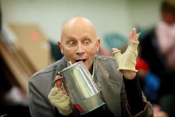 Richard O'Brien plays Fagin.