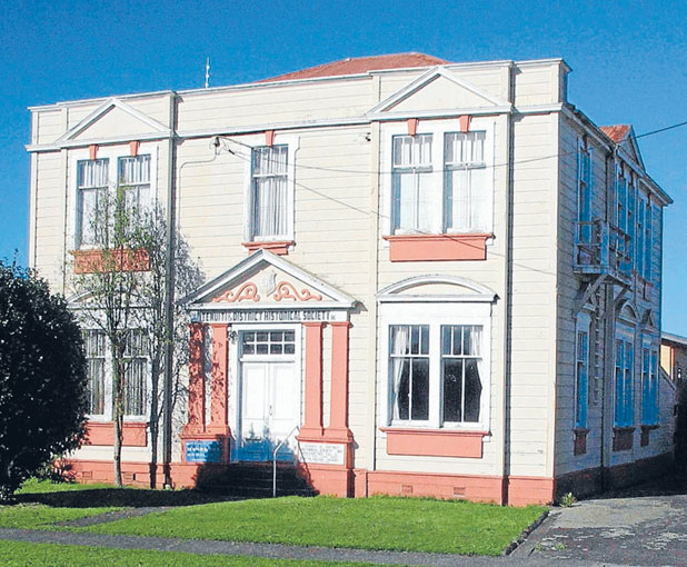 RUN-DOWN:  Bruce Fuller is offering $10,000 to save this 104-year-old Te Kuiti building, but the community must raise a further $20,000 to qualify.