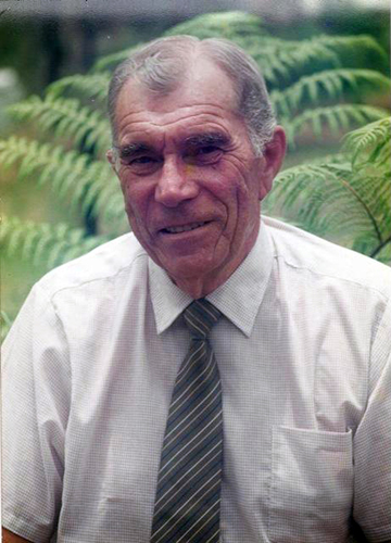 Strong ties: Former Kaikoura resident and MET officer in charge Tom Plane passed away last year and now friends are invited to a service to celebrate his life.