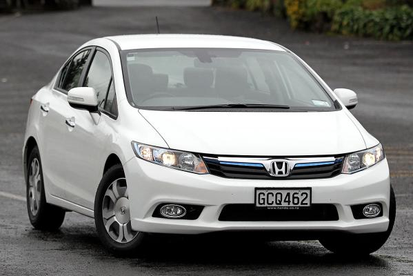 The Honda Civic IMA hybrid.