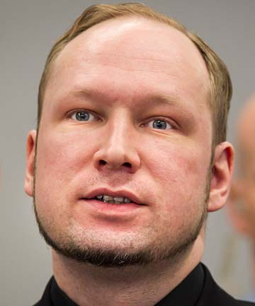 KILLED 77 PEOPLE: Anders Behring Breivik.
