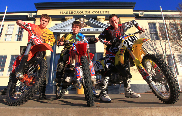 Motocross team