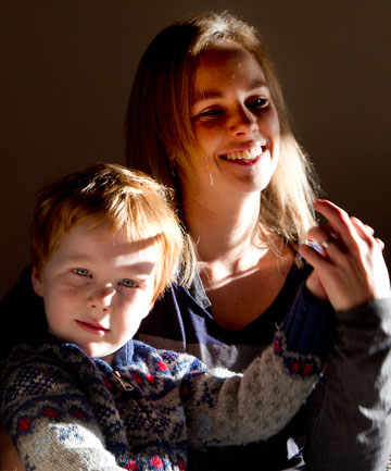 BIG BROTHER? Jordana Clarke put her son Oliver through the B4 School health check six months ago, assuming it was compulsory. No one told her otherwise.