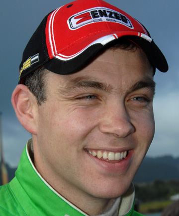 TOP FINISH: Hayden Paddon at Rally New Zealand.