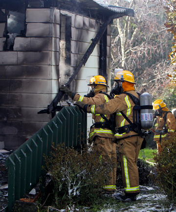 A story about a house fire in Inglewood was among the top five stories on the Taranaki Daily News website last week.