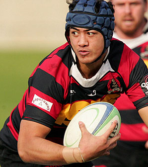 HORROR INJURY: Seti Tafua is unlikely to walk again after suffering a spinal injury.