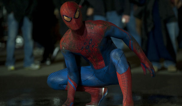 WEBBY: Andrew Garfield takes the starring role in the fourth installment of the popular Spider-man series.