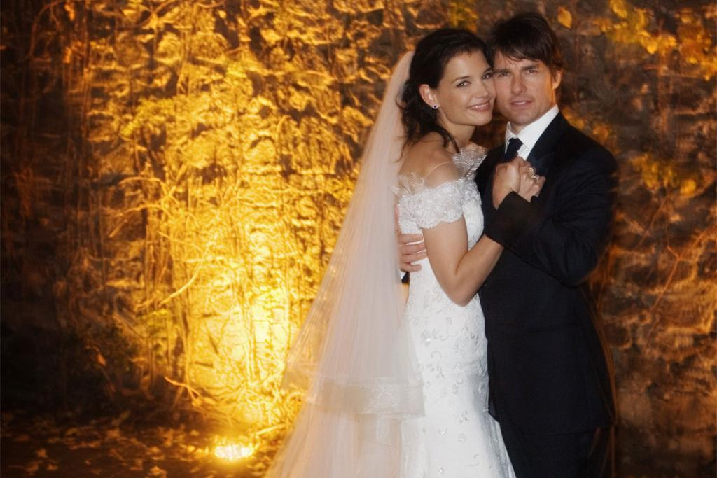Cruise and Holmes married in Italy in November 2005. Holmes had confirmed her pregnancy the previous month.