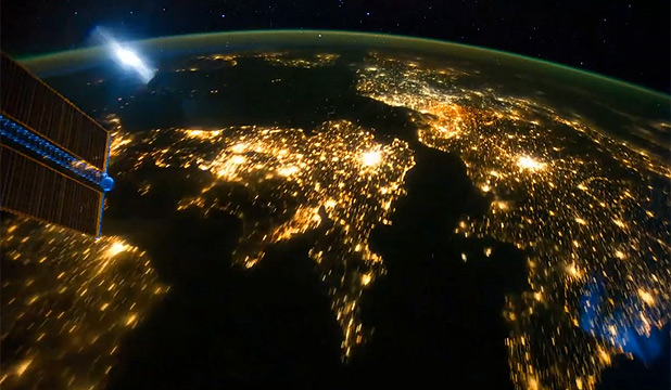 Image result for pictures of lit up earth