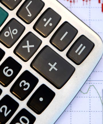 CALCULATE IT: Sitting down and looking at your finances is the first step in working out a plan of attack.