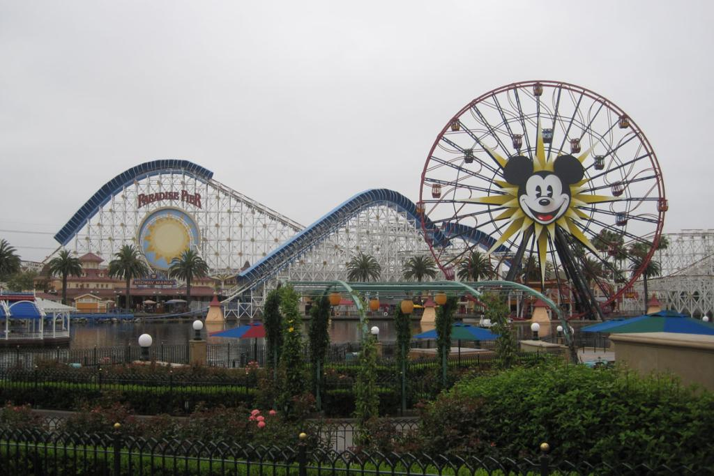 The recently revamped Disney California Adventure.