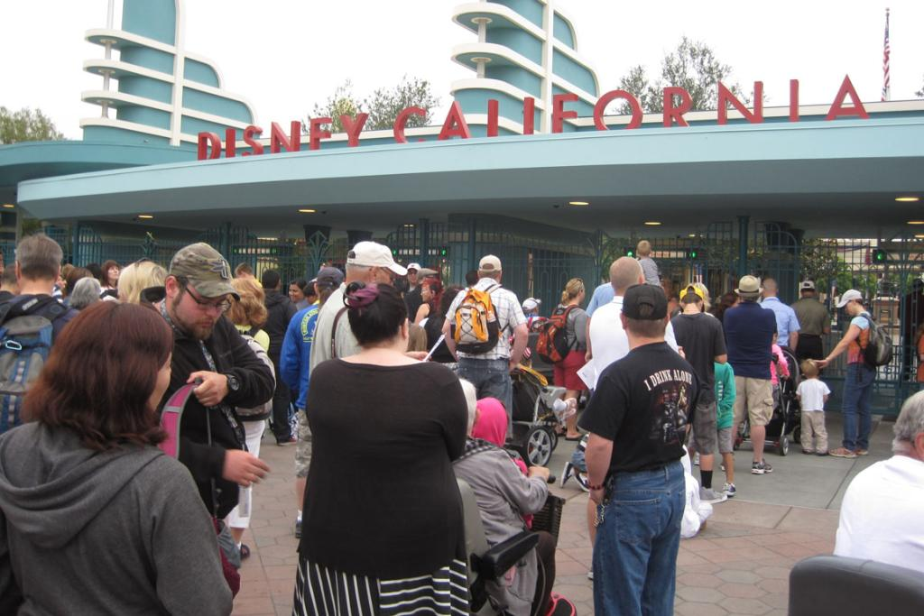 Queues at Disney California Adventure.