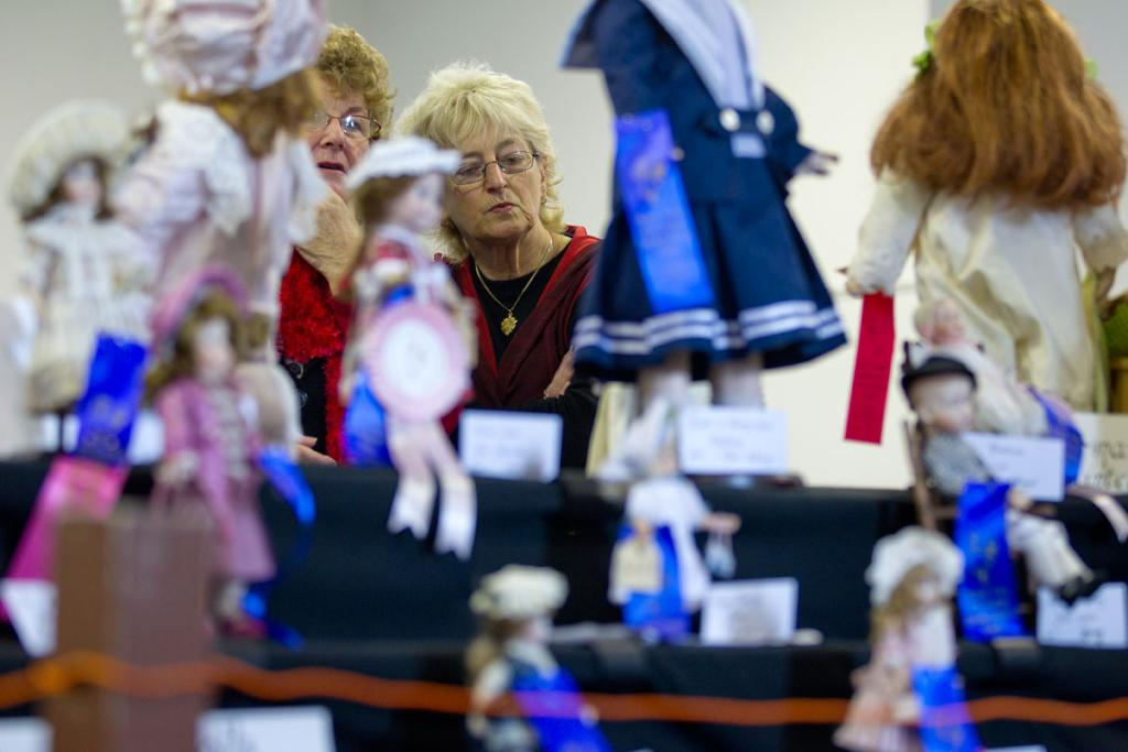Porcelain Doll and Bear Show